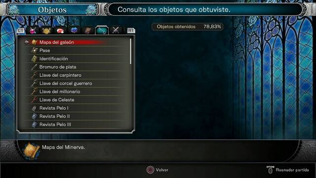 TODOS los objetos clave en Bloodstained: Ritual of the night