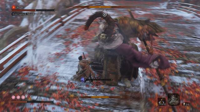 Un mod de Sekiro adapta el sistema de combate de Bloodborne