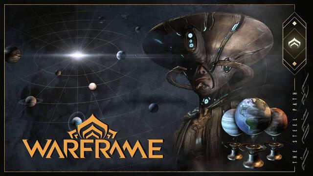 Warframe recibe mayor dificultad y recompensas con el Camino de Acero, ya en PC