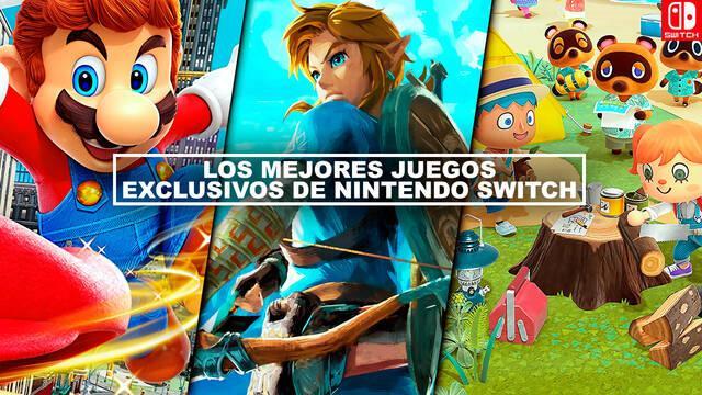 Los MEJORES juegos exclusivos de Nintendo Switch - ¡Imprescindibles! (2021)