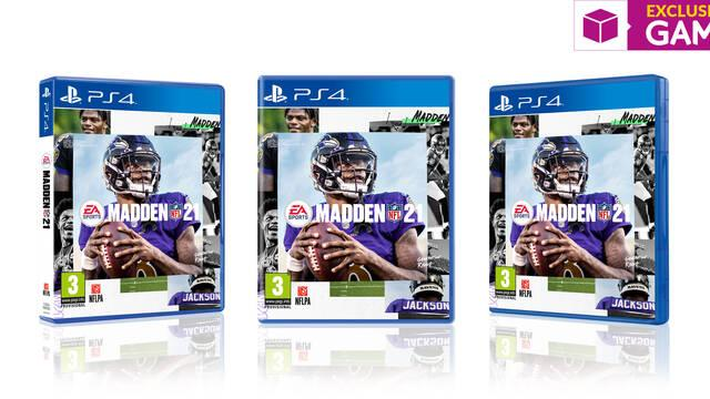 Madden NFL 21 en físico en exclusiva en GAME