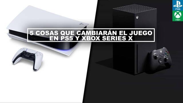5 cosas que cambiarán el juego en PS5 y Xbox Series X