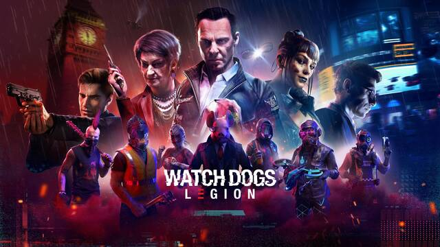 Watch Dogs Legion fecha de lanzamiento gameplay