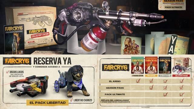 Far Cry 6 Ediciones especiales