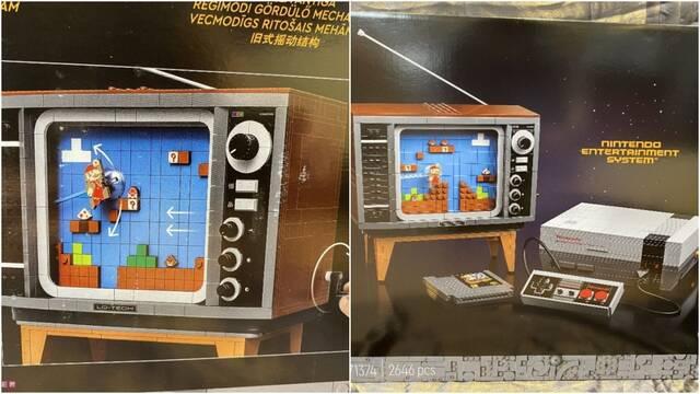 Una NES de LEGO se pondrá a la venta en agosto.