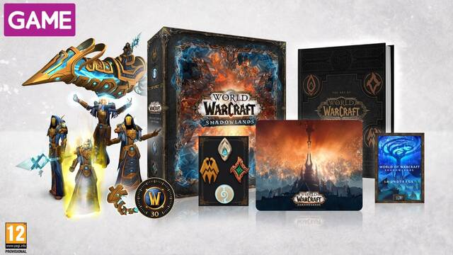 GAME abre las reservas de la edición coleccionista de World of Warcraft: Shadowlands.