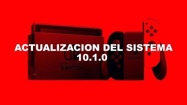 Nintendo Switch se actualiza a la versión 10.1.0