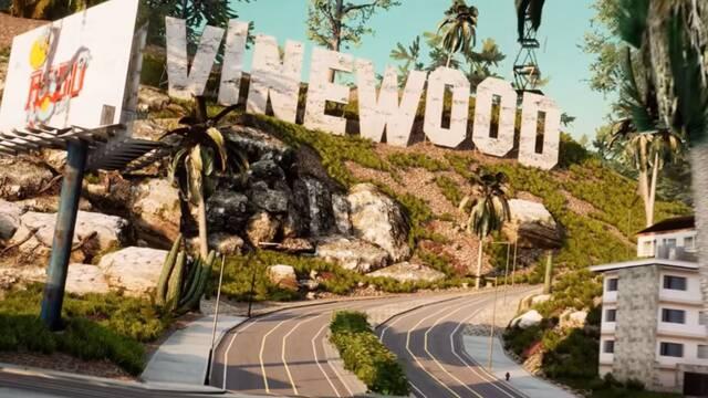 Así es GTA San Andreas en Unreal Engine 4.