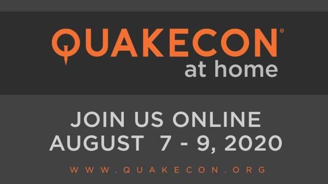 QuakeCon at Home se celebrará del 7 al 9 de agosto.