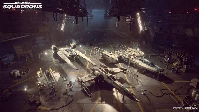 Star Wars Squadrons naves energía