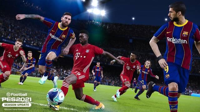 eFootball PES 2021 se podrá comprar a partir del 15 de septiembre.