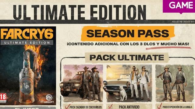 Ediciones especiales de Far Cry 6 exclusivas de GAME.