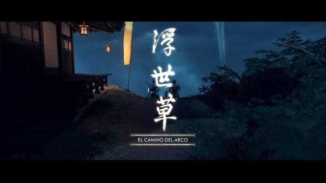 El camino del arco al 100% en Ghost of Tsushima