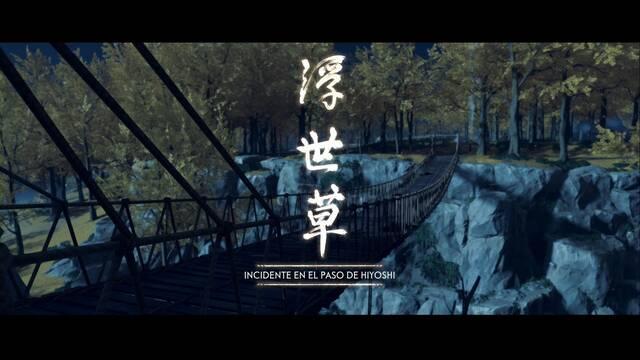 Incidente en el paso de Hiyoshi al 100% en Ghost of Tsushima