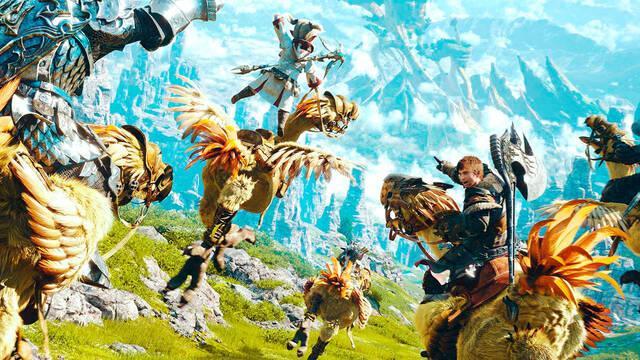 Final Fantasy XIV en PS5 Square Enix quiere lanzarlo