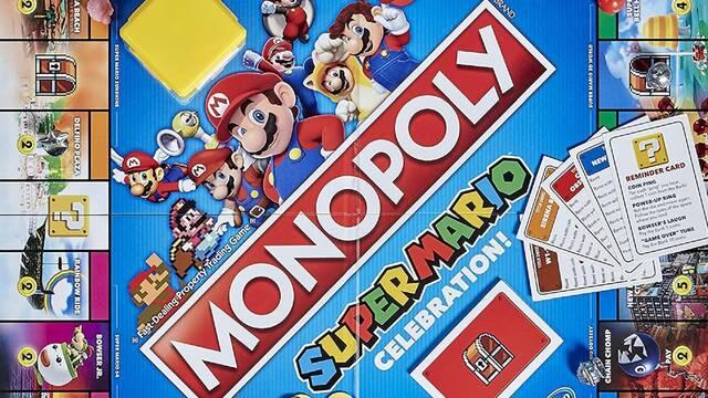 Mario 35 aniversario Monopoly Jenga Switch