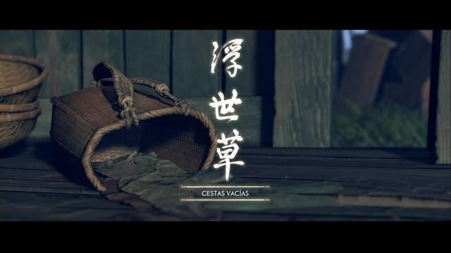 Cestas vacías al 100% en Ghost of Tsushima