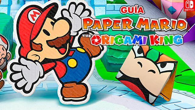 Guía Paper Mario: The Origami King, trucos, consejos y secretos