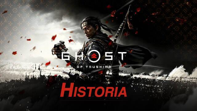 Historia al 100% en Ghost of Tsushima