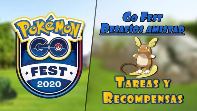 Pokémon Go Fest: Recompensas y tareas del tercer desafío semanal de amistad