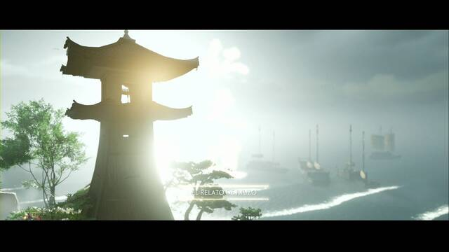El relato de Ryuzo al 100% en Ghost of Tsushima