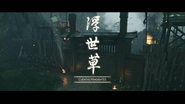 Cuentas pendientes al 100% en Ghost of Tsushima