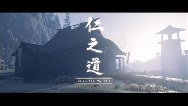 La forja y el martillo al 100% en Ghost of Tsushima