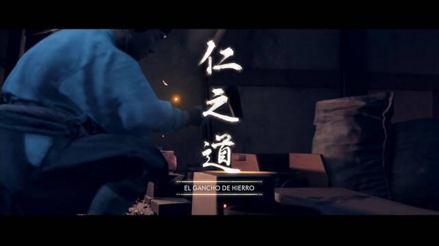 El gancho de hierro al 100% en Ghost of Tsushima