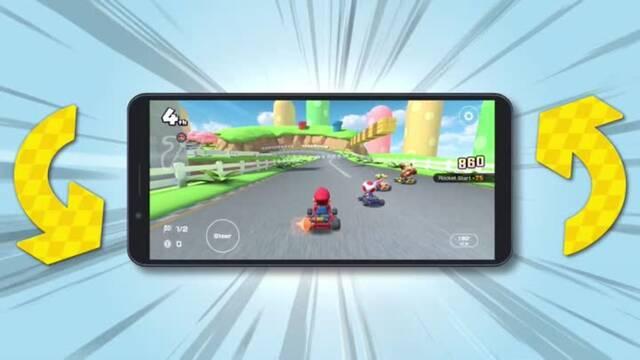 Mario Kart Tour estrena modo horizontal.