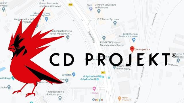 CD Projekt RED en Google Maps