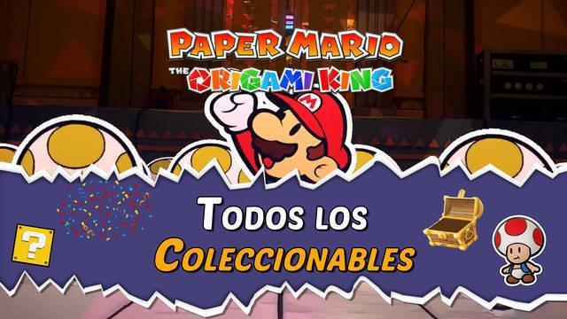 TODOS los coleccionables de Paper Mario: The Origami King y cómo conseguirlos