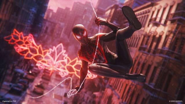 Spider-Man: Miles Morales tendrá un 'modo rendimiento' opcional para jugarlo a 4K y 60 fps.