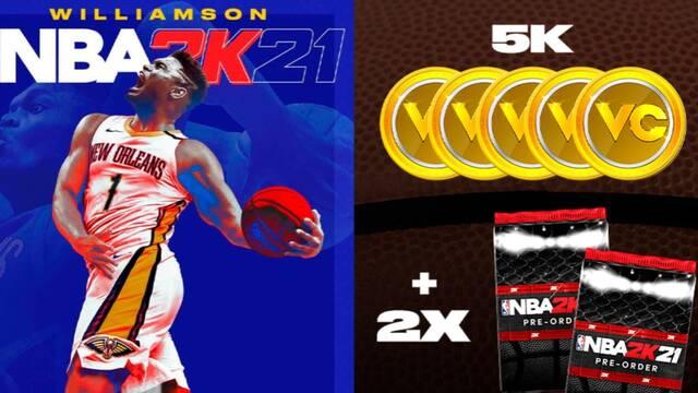GAME abre las reservas de NBA 2K21.