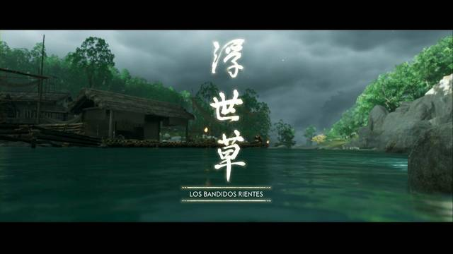 Los bandidos rientes al 100% en Ghost of Tsushima