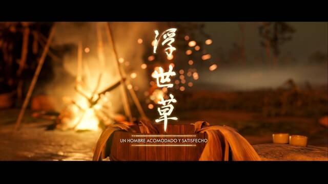 Un hombre acomodado y satisfecho al 100% en Ghost of Tsushima