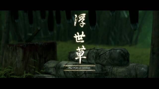 Paz por lo divino al 100% en Ghost of Tsushima