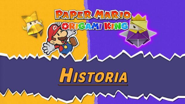 Paper Mario: The Origami King - Historia completa 100% (Walkthrough)