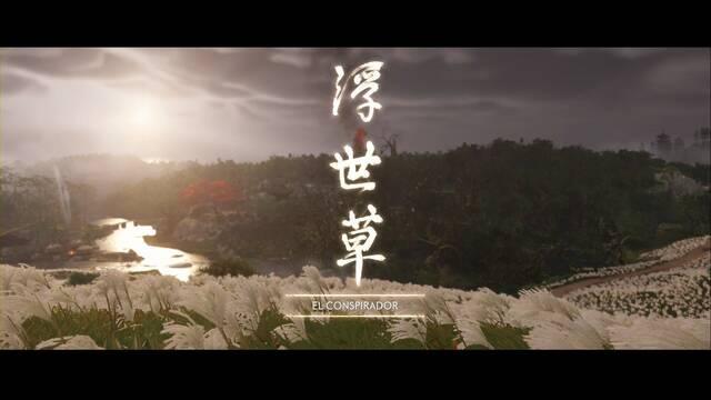El conspirador al 100% en Ghost of Tsushima