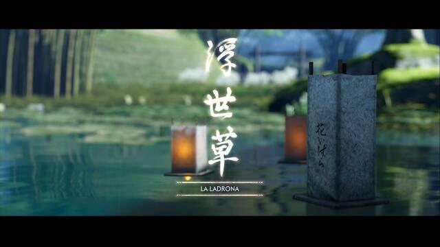 La ladrona al 100% en Ghost of Tsushima