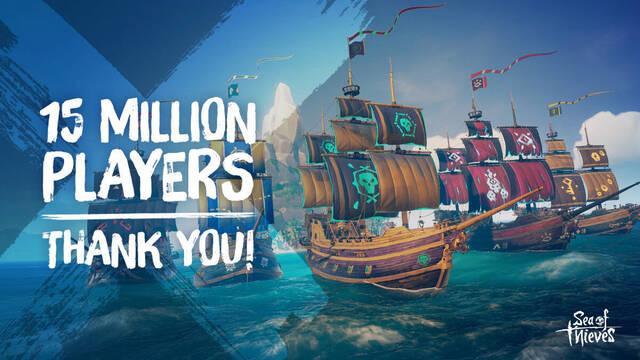 Sea of Thieves supera los 15 millones de jugadores