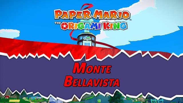Monte Bellavista al 100% en Paper Mario: The Origami King