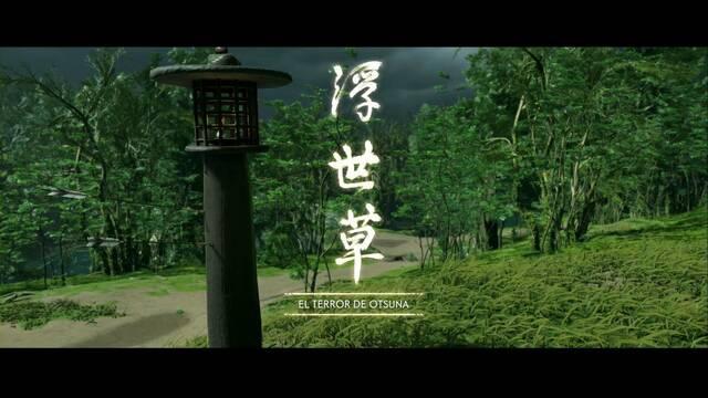 El terror de Otsuna al 100% en Ghost of Tsushima