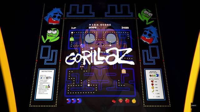 Gorillaz saca una canción dedicada a Pac-Man