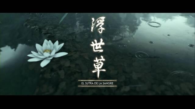 El sutra de la sangre al 100% en Ghost of Tsushima