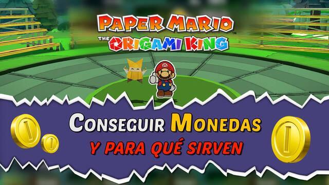 Cómo conseguir monedas y para qué sirven en Paper Mario: The Origami King