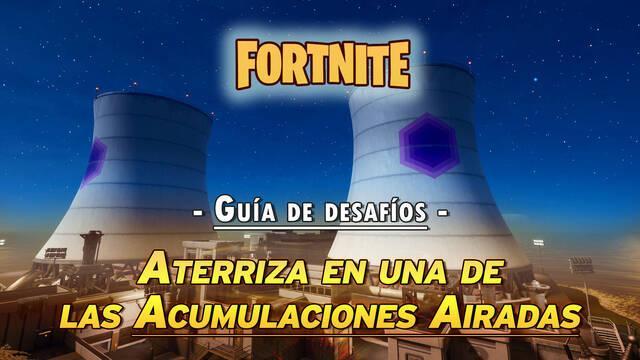 Desafío Fortnite: Aterriza con un Choppa en el fondo de una Acumulación Airadas - SOLUCIÓN