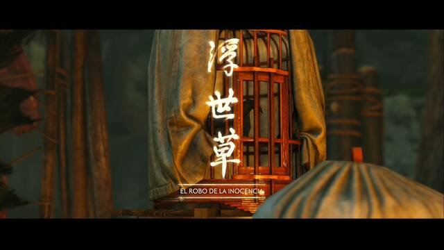El robo de la inocencia al 100% en Ghost of Tsushima