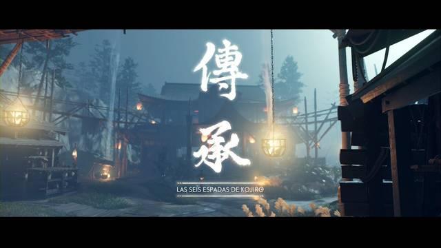 Las seis espadas de Kojiro al 100% en Ghost of Tsushima