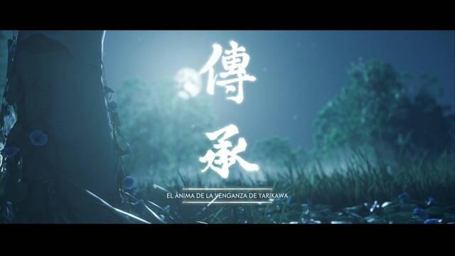 El ánima de la venganza de Yarikawa al 100% en Ghost of Tsushima