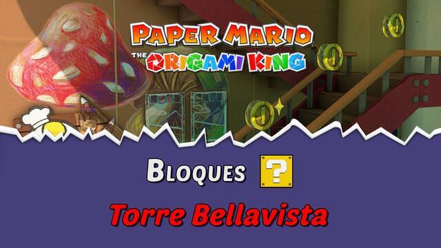 TODOS los bloques ? en Torre Bellavista de Paper Mario The Origami King